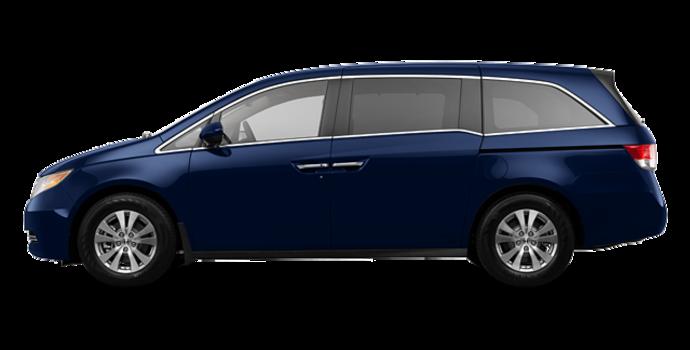 2017 Honda Odyssey EX-L RES | Photo 4 | Obsidian Blue Pearl