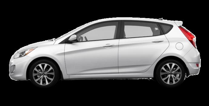 2017 Hyundai Accent 5 Doors SE | Photo 4 | Century White