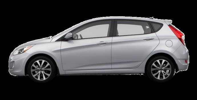 2017 Hyundai Accent 5 Doors SE | Photo 4 | Ironman Silver