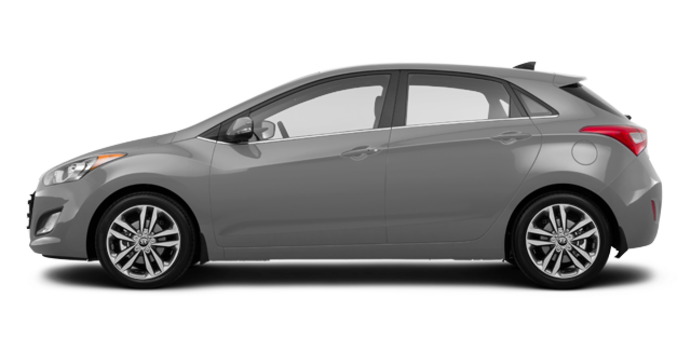 2017 Hyundai Elantra GT LIMITED   Photo 4   Iron Gray