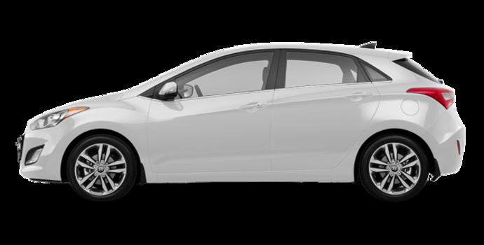 2017 Hyundai Elantra GT LIMITED   Photo 4   Polar White