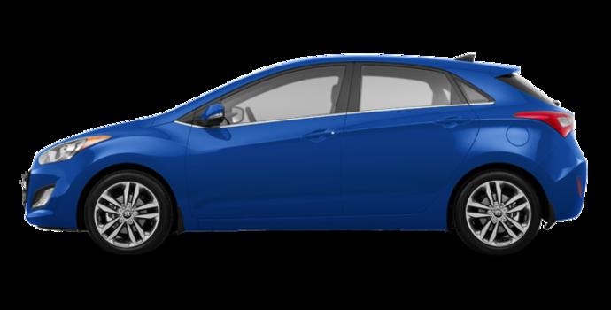 2017 Hyundai Elantra GT LIMITED   Photo 4   Marina Blue
