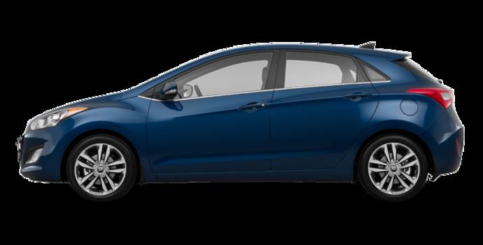 2017 Hyundai Elantra GT LIMITED   Photo 4   Star Gazing Blue