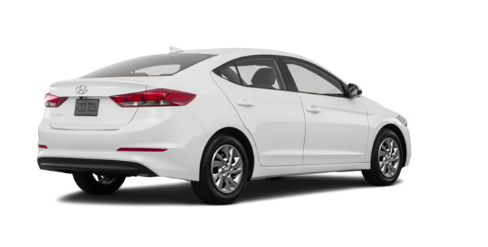 2017 Hyundai Elantra LE | Photo 5 | Ice White