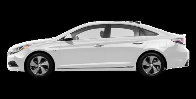 2017 Hyundai Sonata Hybrid LIMITED | Photo 4 | White