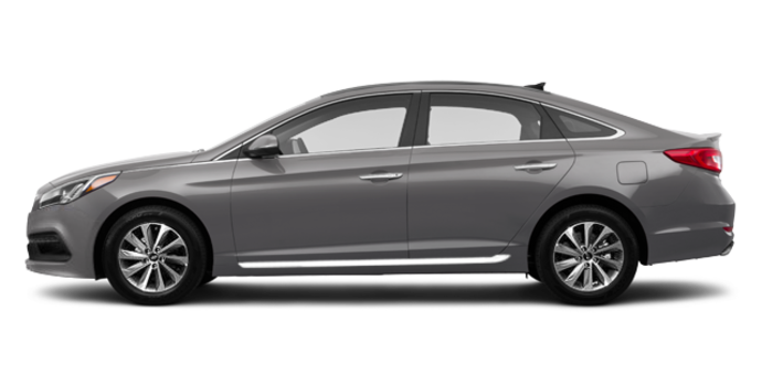 2017 Hyundai Sonata SPORT TECH   Photo 4   Polished Metal
