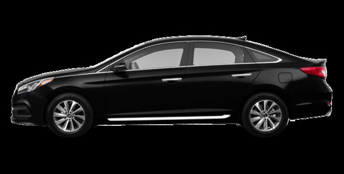 2017 Hyundai Sonata SPORT TECH   Photo 4   Black Pearl