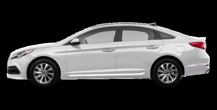 2017 Hyundai Sonata SPORT TECH   Photo 4   Ice White