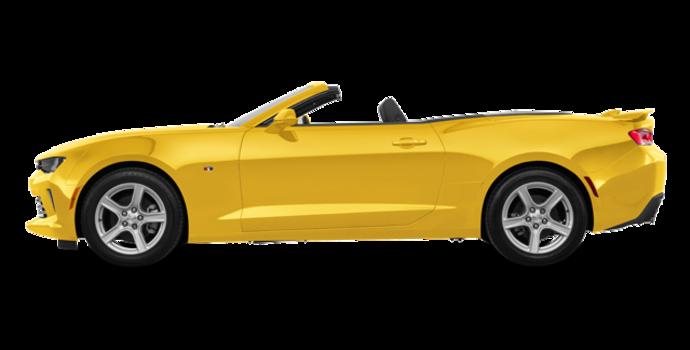 2018 Chevrolet Camaro convertible 2LT   Photo 4   Bright Yellow