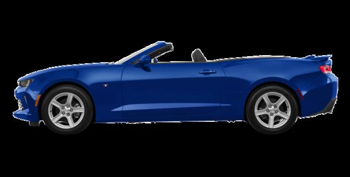2018 Chevrolet Camaro convertible 2LT   Photo 4   Hyper Blue Metallic
