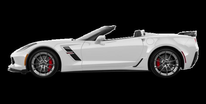 2018 Chevrolet Corvette Convertible Grand Sport 3LT   Photo 4   Arctic White