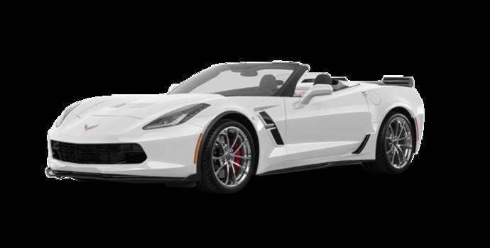 2018 Chevrolet Corvette Convertible Grand Sport 3LT   Photo 6   Arctic White