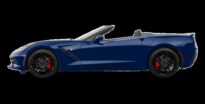 2018 Chevrolet Corvette Convertible Stingray 2LT | Photo 4 | Admiral Blue Metallic