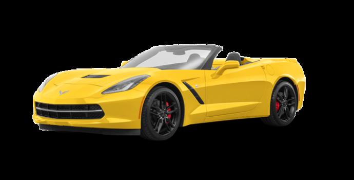 2018 Chevrolet Corvette Convertible Stingray Z51 1LT | Photo 6 | Corvette Racing Yellow Tintcoat