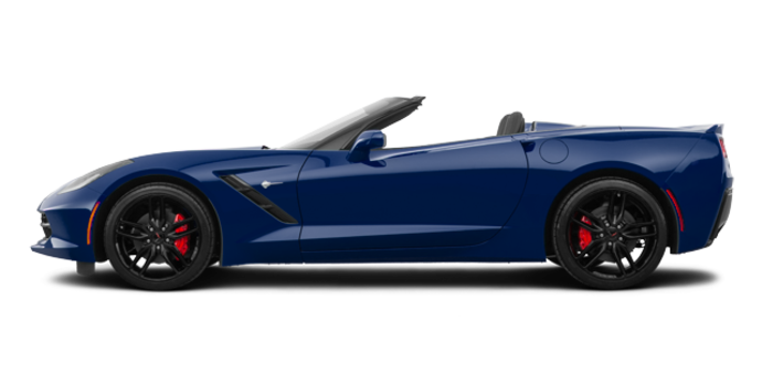 2018 Chevrolet Corvette Convertible Stingray Z51 3LT | Photo 4 | Admiral Blue Metallic