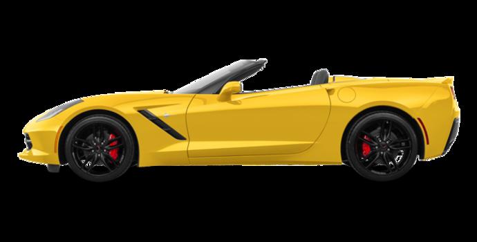 2018 Chevrolet Corvette Convertible Stingray Z51 3LT | Photo 4 | Corvette Racing Yellow Tintcoat