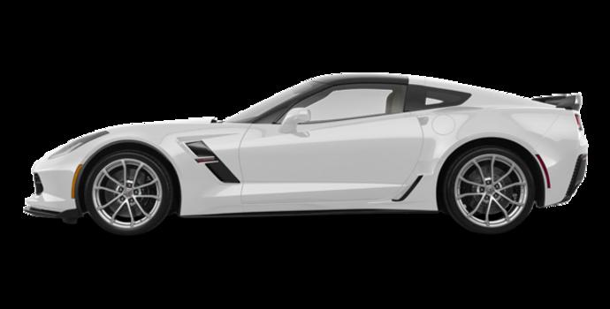 2018 Chevrolet Corvette Coupe Grand Sport 3LT | Photo 4 | Arctic White