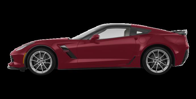 2018 Chevrolet Corvette Coupe Grand Sport 3LT | Photo 4 | Long Beach Red Metallic Tintcoat