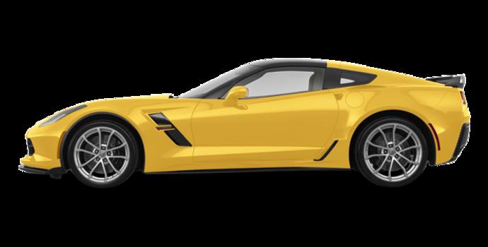 2018 Chevrolet Corvette Coupe Grand Sport 3LT | Photo 4 | Corvette Racing Yellow Tintcoat