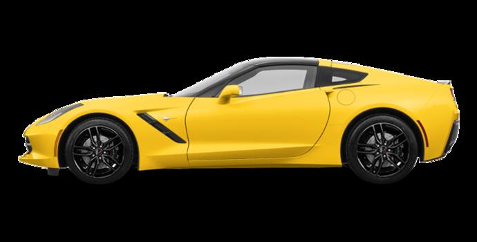 2018 Chevrolet Corvette Coupe Stingray Z51 1LT | Photo 4 | Corvette Racing Yellow Tintcoat