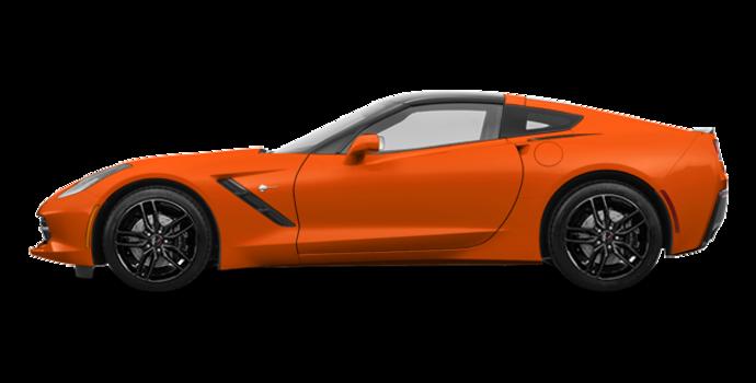 2018 Chevrolet Corvette Coupe Stingray Z51 1LT | Photo 4 | Sebring Orange Tintcoat