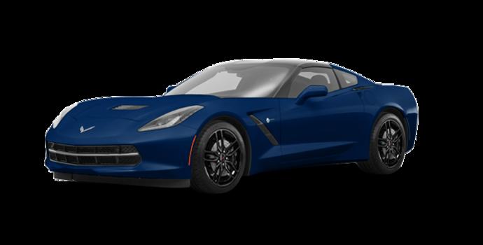 2018 Chevrolet Corvette Coupe Stingray Z51 1LT | Photo 6 | Admiral Blue Metallic