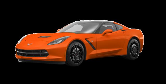 2018 Chevrolet Corvette Coupe Stingray Z51 1LT | Photo 6 | Sebring Orange Tintcoat