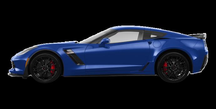 2018 Chevrolet Corvette Coupe Z06 1LZ   Photo 4   Admiral Blue Metallic