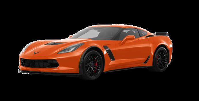 2018 Chevrolet Corvette Coupe Z06 1LZ   Photo 6   Sebring Orange Tintcoat