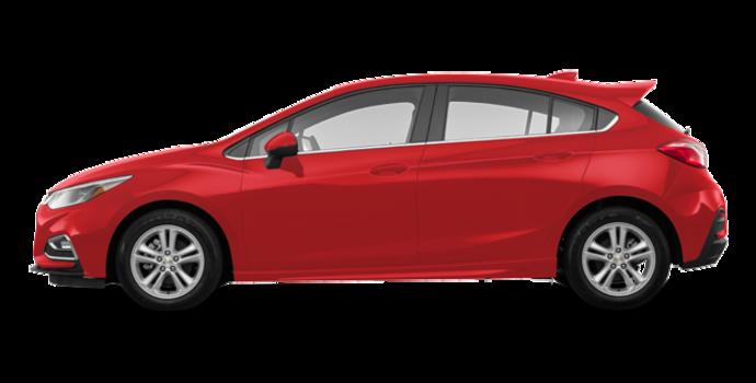 2018 Chevrolet Cruze Hatchback LT | Photo 4 | Red Hot