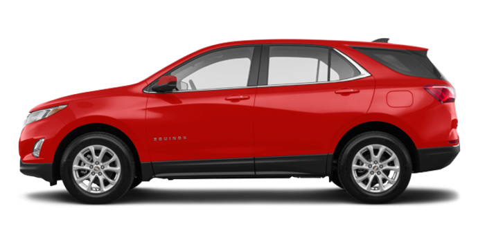 2018 Chevrolet Equinox LT | Photo 4 | Cajun Red