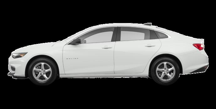 2018 Chevrolet Malibu LS | Photo 4 | Summit White