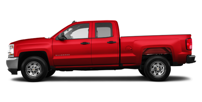 2018 Chevrolet Silverado 1500 LS   Photo 4   Red Hot
