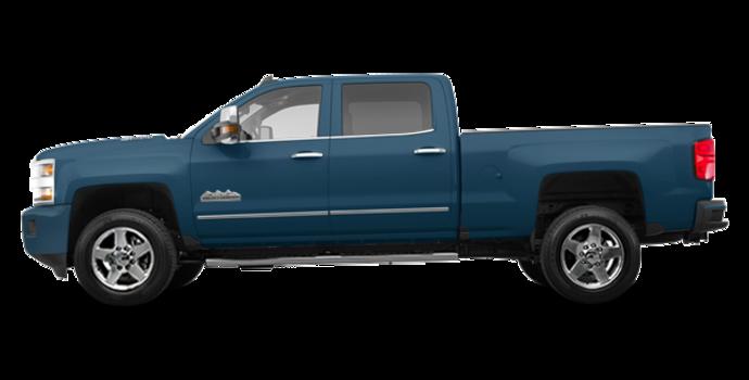 2018 Chevrolet Silverado 2500HD HIGH COUNTRY | Photo 4 | Deep Ocean Blue Metallic