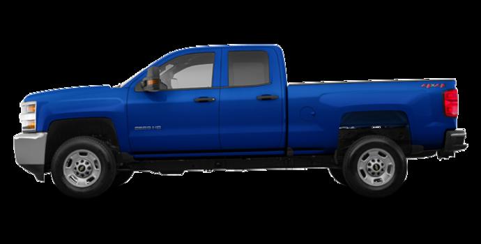 2018 Chevrolet Silverado 2500HD WT   Photo 4   Deep Ocean Blue Metallic