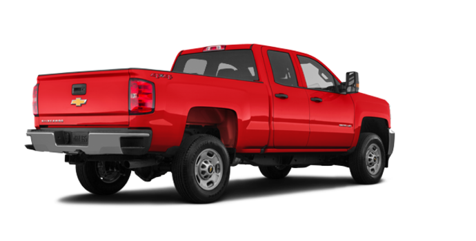 2018 Chevrolet Silverado 2500HD WT   Photo 5   Red Hot