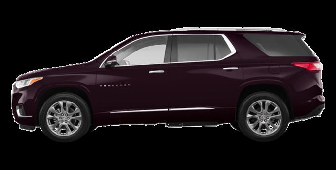 2018 Chevrolet Traverse PREMIER   Photo 4   Black Currant Metallic