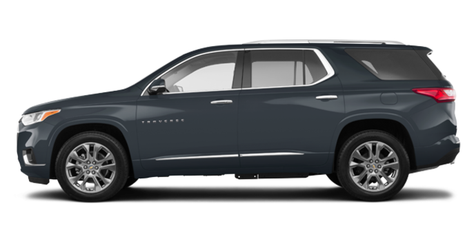 2018 Chevrolet Traverse PREMIER   Photo 4   Graphite Metallic
