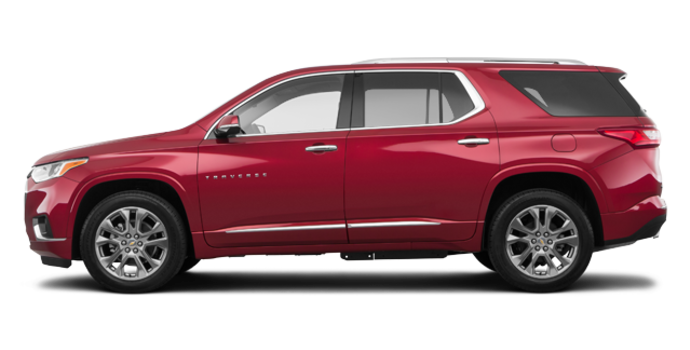 2018 Chevrolet Traverse PREMIER   Photo 4   Cajun red tintcoat
