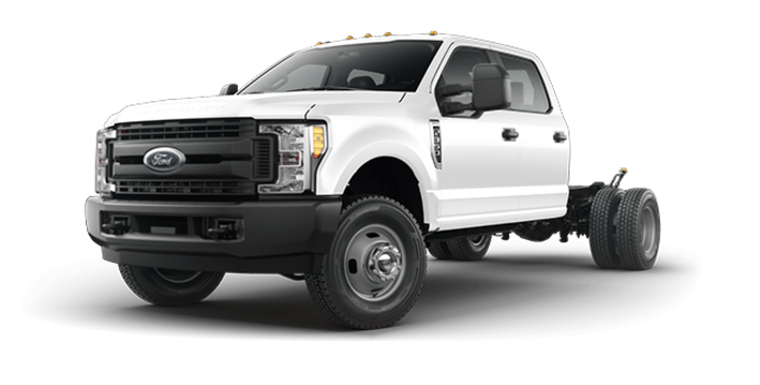2018 Ford Chassis Cab F-350 XL   Photo 4   Oxford White