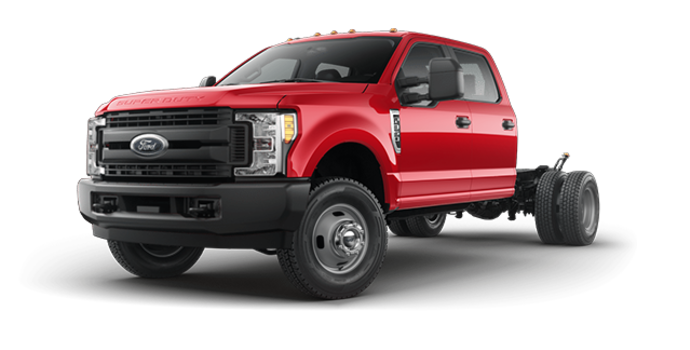 2018 Ford Chassis Cab F-350 XL   Photo 4   Race Red