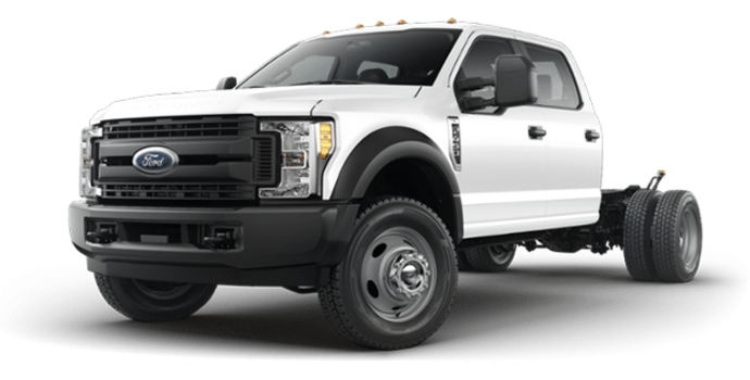 2018 Ford Chassis Cab F-450 XL   Photo 4   Oxford White