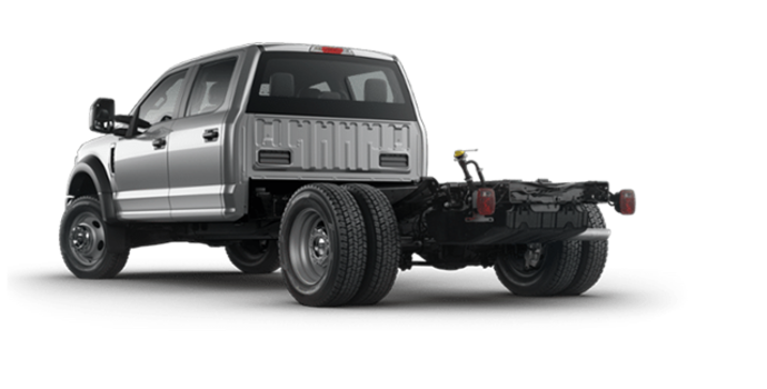 2018 Ford Chassis Cab F-450 XL   Photo 5   Ingot Silver
