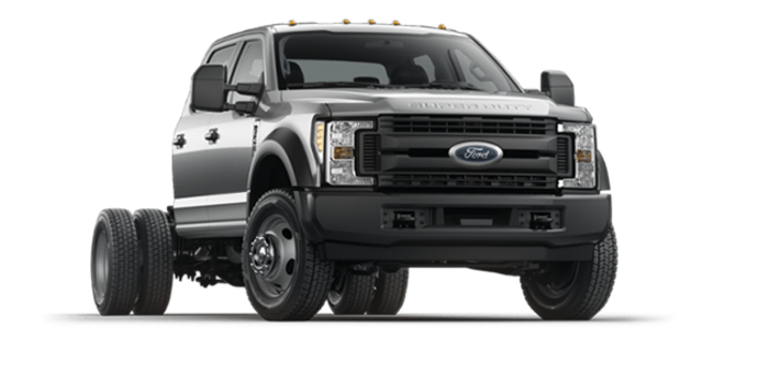 2018 Ford Chassis Cab F-450 XL   Photo 6   Ingot Silver