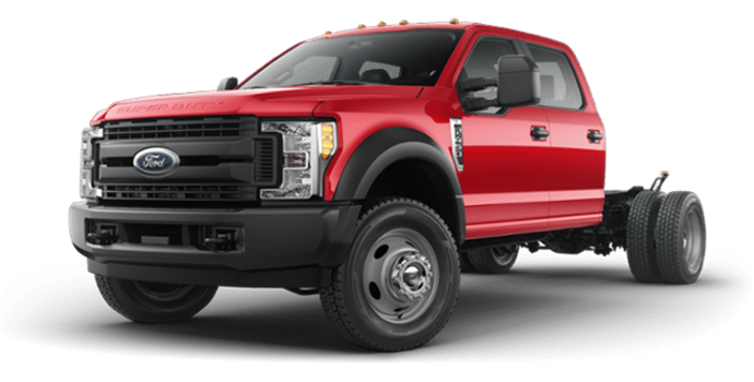 2018 Ford Chassis Cab F-450 XL   Photo 4   Race Red