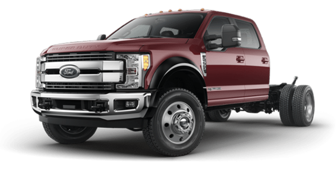 2018 Ford Chassis Cab F-550 LARIAT | Photo 4 | Magma Red