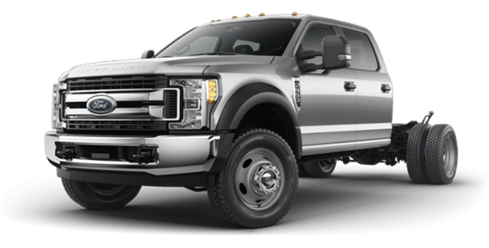 2018 Ford Chassis Cab F-550 XLT | Photo 4 | Ingot Silver