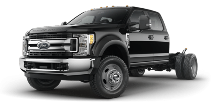 2018 Ford Chassis Cab F-550 XLT | Photo 4 | Shadow Black