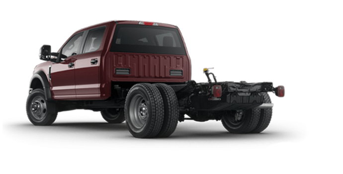 2018 Ford Chassis Cab F-550 XLT | Photo 5 | Magma Red