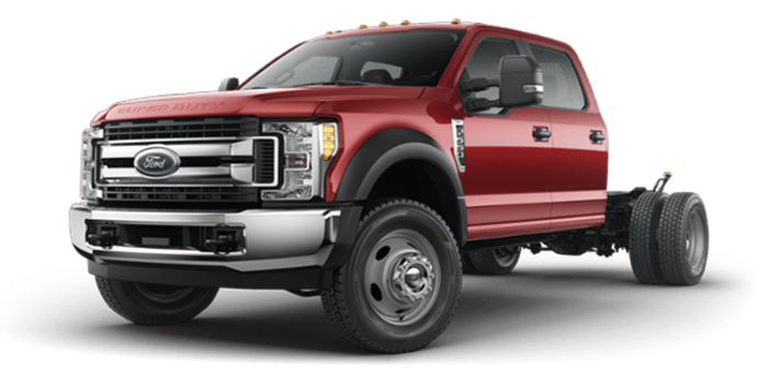 2018 Ford Chassis Cab F-550 XLT | Photo 4 | Ruby Red